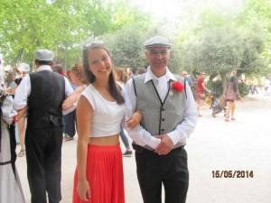 Un chulapo and I