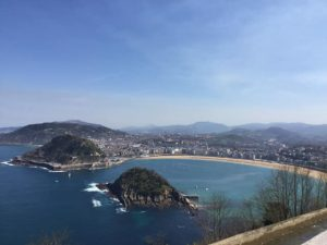 Panorama of San Sebastián