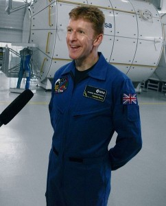 Timothy Peake (born 1972, he has a degree in spaceflight dynamics and served with the British Army Air Corps for 20 years).