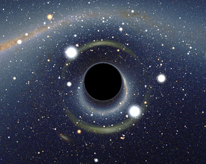 One of my seminar questions looks at the trajectories of photons into a black hole.