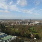 I took this photo after one of my lectures in the Charles Wilson - the weather has been fantastic recently!