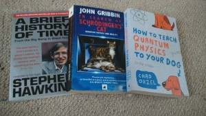 Some books I'm reading this summer.
