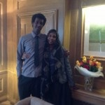 Me and the Madre: the real boss behind the scenes.