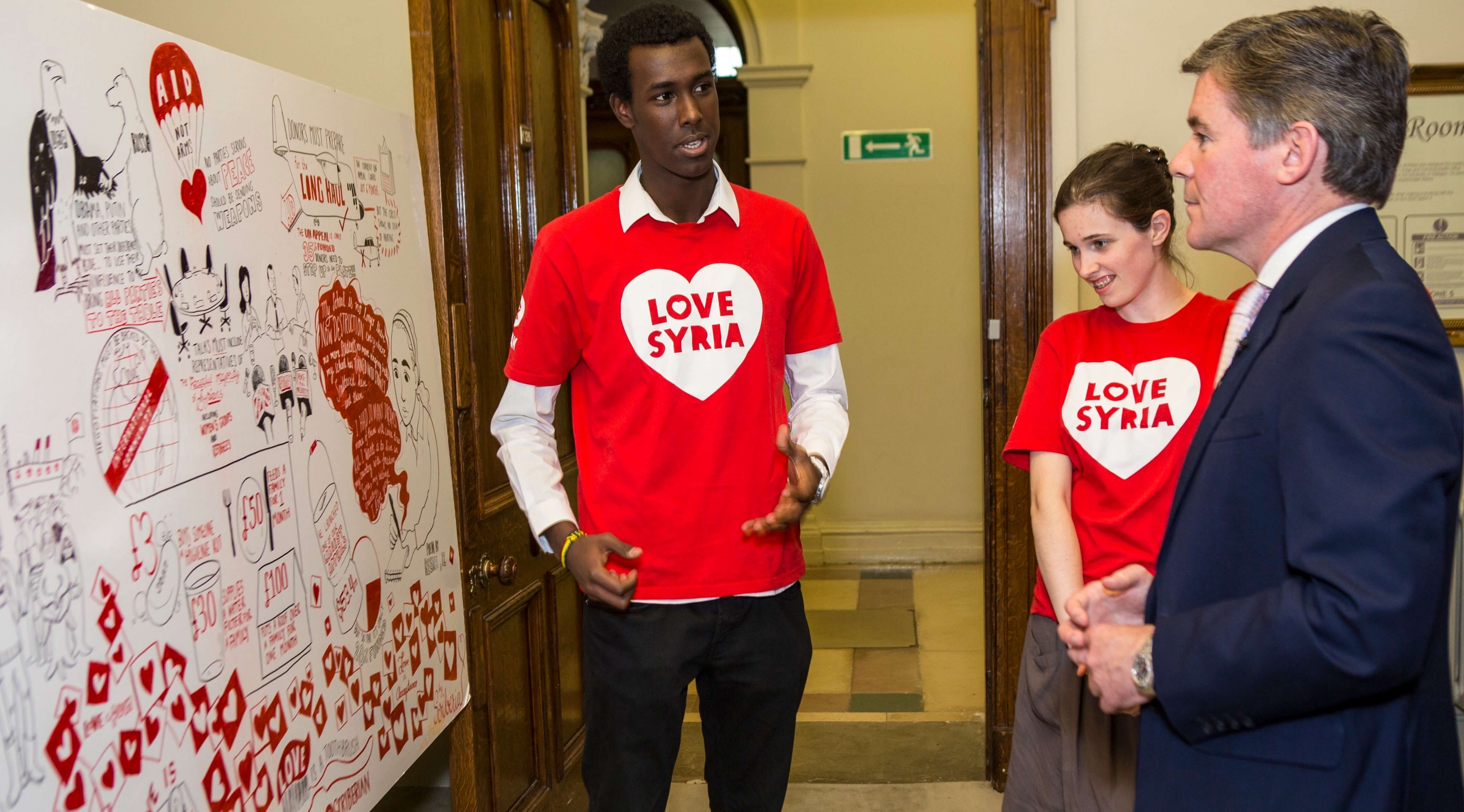UK - Oxfam Campaign - Love Syria FCO