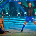 Robbie Savage & Ola Jordan Samba (Picture courtesy of BBC)