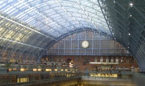 St Pancras Station, 21-01-2014