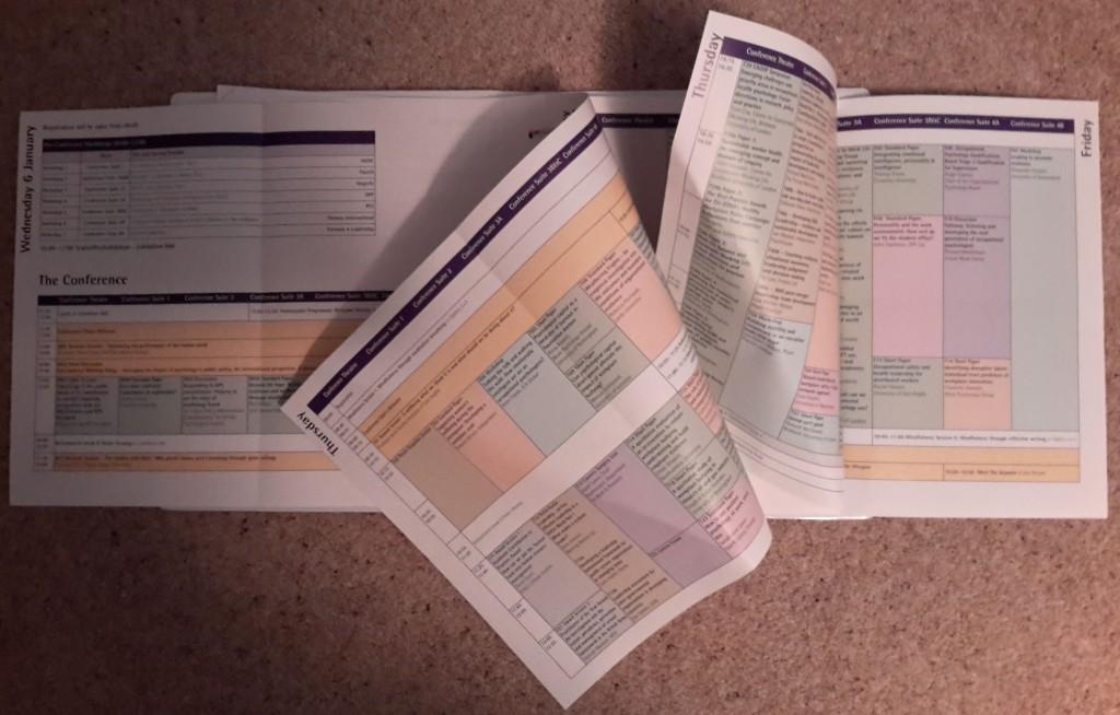 DOPconf 2016 timetable