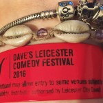 My very worn out festival wristband!