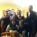 sorry to my friends for uploading this! First year Christmas dinner in The Coppice
