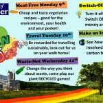 Get involved with Go Green Week!