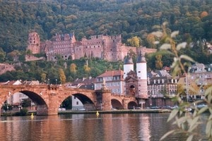 Heidelberg Germany Old Town