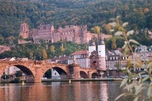Heidelberg Germany Old Town