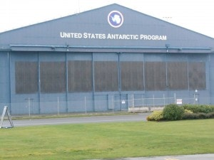 This is the US Antarctic Programme base - see what I mean, looks pretty secretive. Wonder what research they're doing in there at the moment!