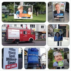 Posters and campaigning