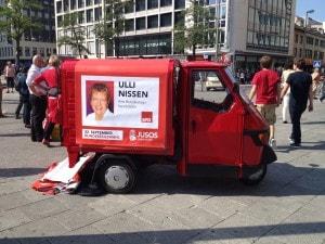 SPD's Vespa-Van