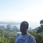 Walking up the Victoria Peak