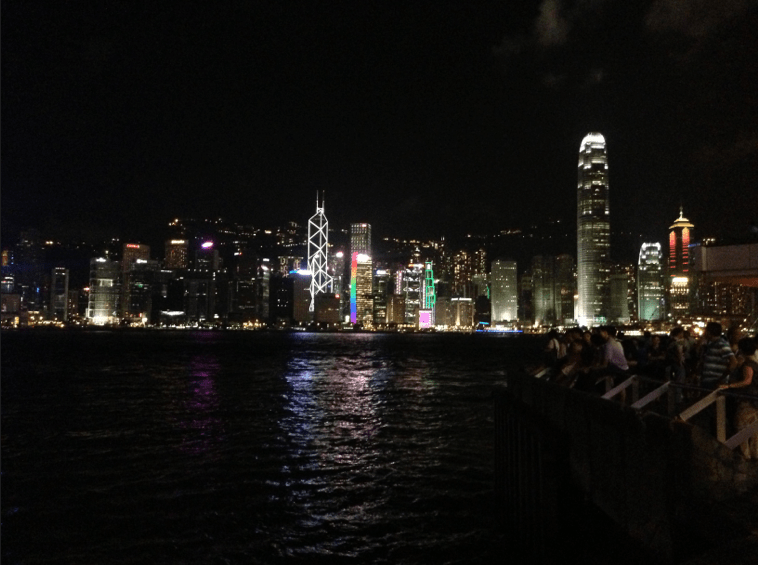The Harbour Lights Show in Kowloon