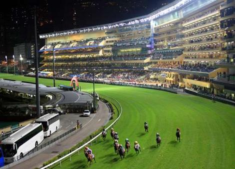 The Happy Valley Horse Racetrack