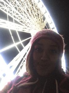 Big Ferrous Wheel at Winter Wonderland