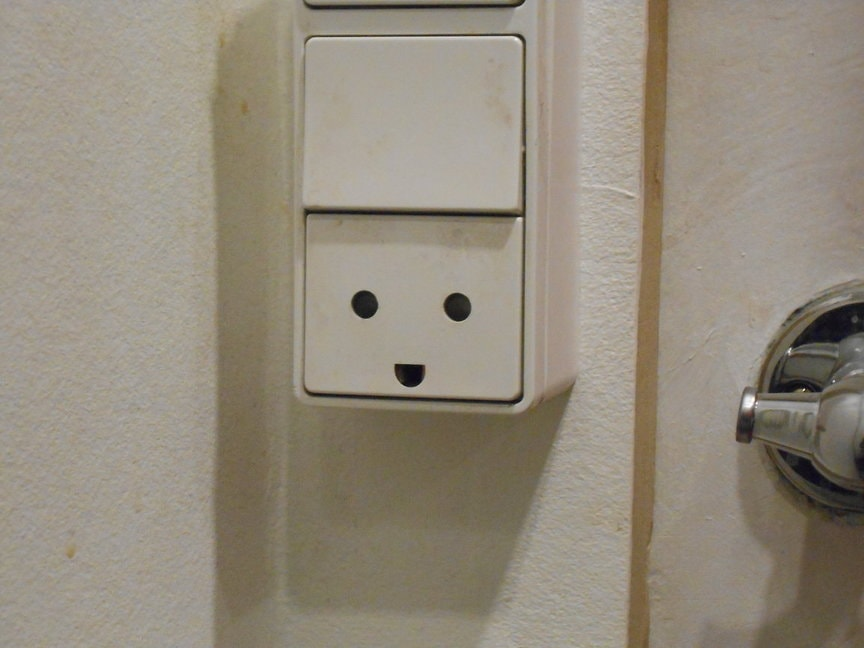 Happy Electrical Socket