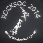 O-week also means clubs day and I made sure I joined up to RockSoc to get my top - It rocks ;)
