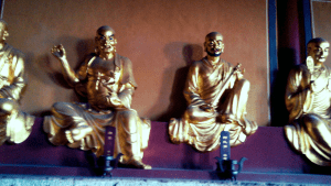 Buddhas at the Temple
