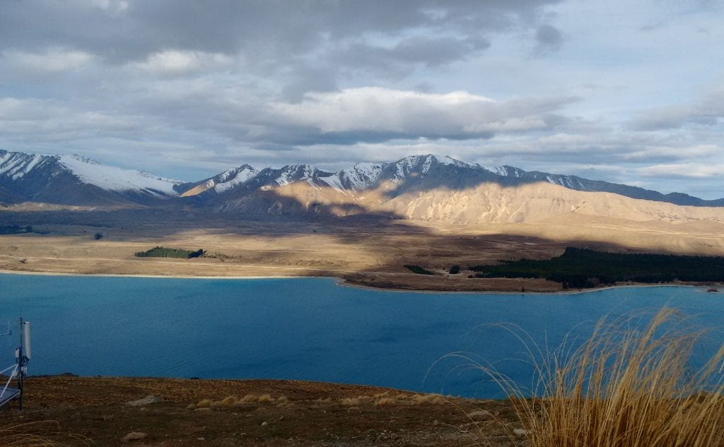 Lake Tekapo. This isn't photoshopped, it genuinely is that blue!