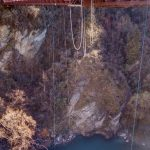Kawarau Bridge. At 43m it might not look that high, but it seems a lot higher from the edge!