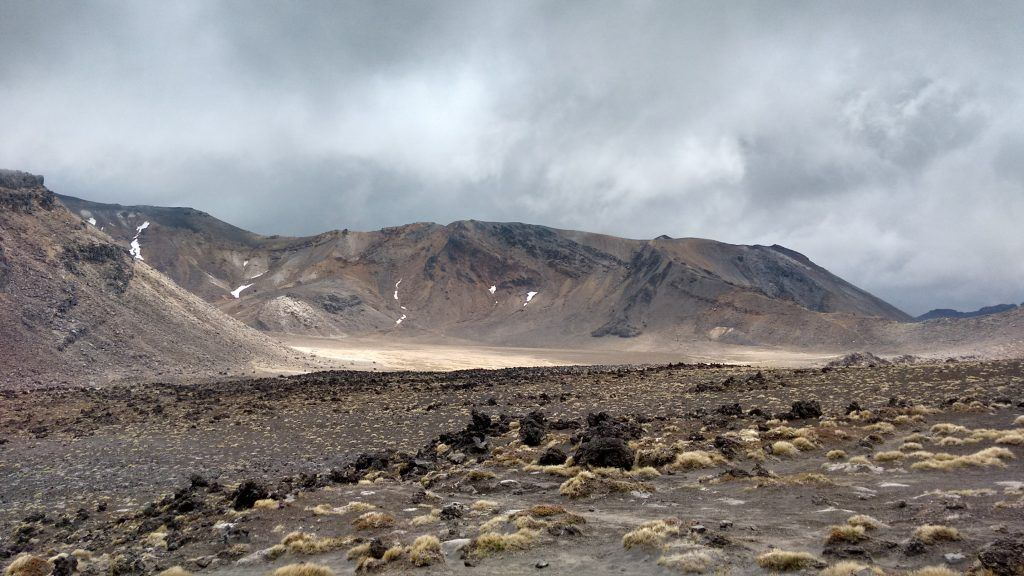 Crossing South Crater