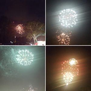 Pictures of Fireworks taken on Australia day