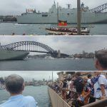 Pictures taken from in front of the Sydney Opera House