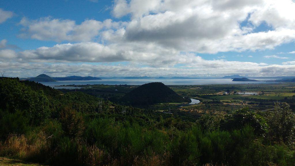 Lake Taupo Caldera