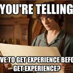 Back to the future, or the excitement of summer internships
