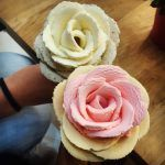 The gelato flowers served at iCreamy Artisan Gelato