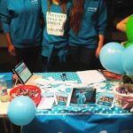 Getting ready for the Freshers' Fair